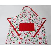 Durable Colorful  Cute Cooking Aprons Cotton Polyester  Logo Embroidery Print Manufactures