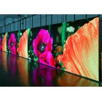 China Events Custom HD LED Video Wall Panels System Hanging Stacking Easy Installation on sale