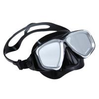 Buy cheap Mirrored Lens Adult Diving Mask Scuba Diving Goggles Liquid Silicone Custom Logo from wholesalers