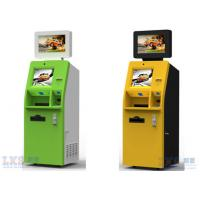 China A4 Laser Printer Dual Screen Health Kiosk Machine , Automated Kiosk Touch Screen on sale