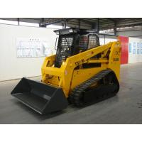 China Ts100 Skid Steer Loaders With Tipping Load 3000kgs Bucket Capacity 0.6-0.7m3 on sale