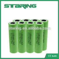 Fast shipping High drain rechargeable  LGAHA1  18650 1300MAH battery  for ecig batteries Manufactures