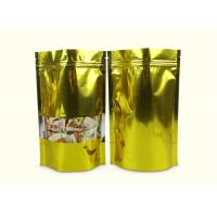 Customized Print Stand Up Doypack Resealable Zipper Top Laminated Poly Bag For Food Packing Manufactures