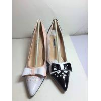 China Hot sale 2014MIU MIU3D cutting color match butterfly pointy pump high heel shoes on sale