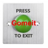 Stainless Steel Door Exit Button 86 x 86 Manufactures