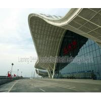 UV Resistant Prefabricated Steel Structures Large Span Prefab Bus / Train Station Manufactures