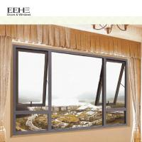 Retractable Flynet Exterior Aluminum Window Awnings / Modern White Aluminum Awning Manufactures