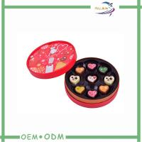 Customised Cylinder Cardboard Gift Boxes For Chocolates , Eco Friendly Manufactures