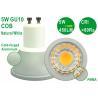 Buy cheap CE RoHS Aluminium Epistar COB 5W 450LM 80Ra 4500K GU10 E27 E14 Spotlight from wholesalers