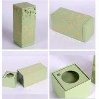 China Stylish Rectangle Small Rigid Gift Boxes, Custom Paper Rigid Board Packaging Box on sale