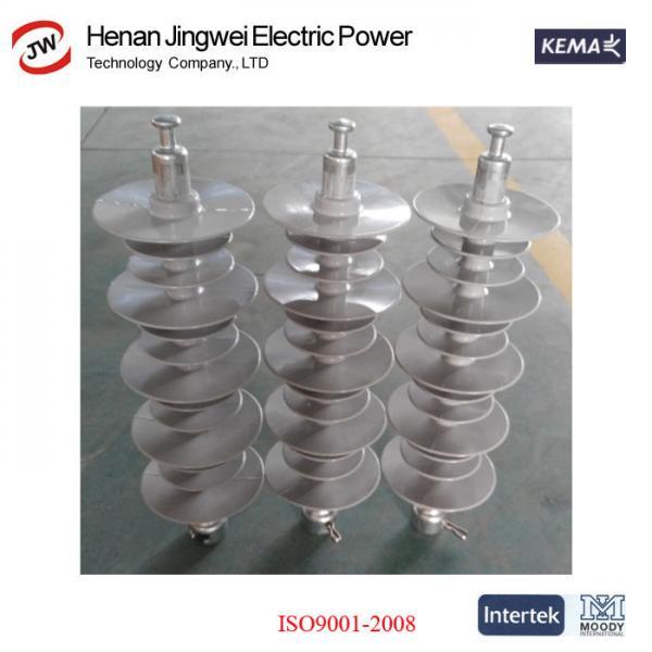 Quality 24KV 33KV 36KV 69kV For Polymer Material Transmission Composite Line Post Insulator for sale