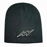 Beanie with Reflective Logo on Label Manufactures