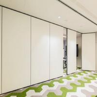 Soundproof And Acoustic Sliding Folding Partitions MDF + Melamine Material Manufactures