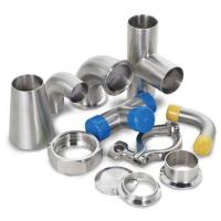 Dairy Welding Tri Clamp Stainless Steel Sanitary Pipe Fittings Corrosion Resistance Manufactures