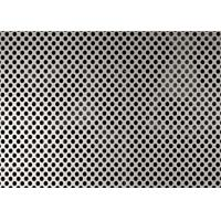 2.5mm Hole Diameter Perforated Aluminum Panels , 5052 Aluminum Mesh Sheet Manufactures