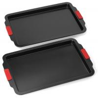 Oven Lovin' Nonstick Bakeware 2-Piece Baking and Cookie Pan Set Manufactures