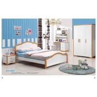Mediterranean style latest wooden bedbed room furniture 6605 Manufactures