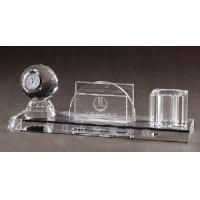 Crystal Office Decoration, Crystal Paperweight, Crystal Pen Holder(JD-ZZ-056) Manufactures