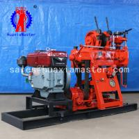 China China high efficiency XY-180 hydraulic water borehole drilling machine/ater well equipment core drilling rig for sale on sale