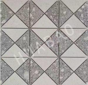Customized Terrazzo stone Mosaic tiles panels for Kitchen bathroom floor Manufactures