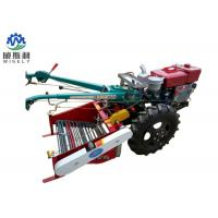 Two Wheel Walk Behind Tractor Mini Potato Harvester With Back Seat Manufactures