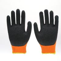 China winter hand gloves winter latex working glove acrylic gloves on sale