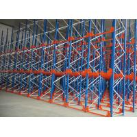 Q235 Q345 Steel Pallet Racks Radio Shuttle Racking Optimizing Space Networking Control