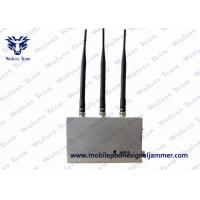 China Remote Controlled 4G Mobile Phone Signal Jammer Stable Working HS Code 8543709200 on sale