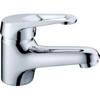 Above Counter Sink Brass Single Lever Basin Tap Faucets With Zinc Alloy Handle Manufactures