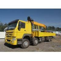 371HP Truck Mounted Crane For Construction HW76 Cabin 20T Max Lifting Moment Manufactures