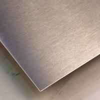 SUS316L Silver Colors Colored Stainless Steel Sheets ,PVD Decoration Sheets 1250mm 1500mm Length Max 6000mm Manufactures
