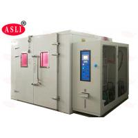 China Simulate UV Xenon Lamp Temperature Combined Accelerated Weathering Test Machine Walk In Room on sale