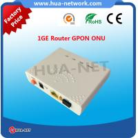 Buy cheap 2017 hottest 1GE ONT HZW-G801 for wholesale from wholesalers