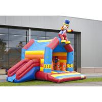 China One Hand Commercial Inflatable Bounce House PVC Materials For 3 - 23 Years Old on sale