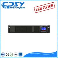 High Frequency Online Home Rack Mount Ups , Uninterruptible Power Supply Rack Mountable Manufactures