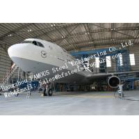 Hot Galvanized Steel Shed Aircraft Hangar Buildings For Airplanes / Air Terminals Manufactures