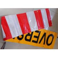 Outdoor Custom Made Vinyl Banners Printed Yellow Black For Business Manufactures