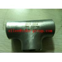 """TOBO STEEL Group  2"""" X ¾"""" 3000# SW RED TEE, 304/L- PMI TESTED Manufactures"""