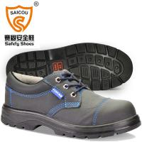 Stylish Pu Injection Low Cut Safety Shoes Wide steel toe cap Safety shoes FC-2588 Manufactures