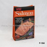 Stand Up Vacuum Sealed Frozen Food Packaging Plastic Bags For Seafood Manufactures