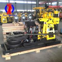 Buy cheap Adopt wheeled hydraulic coring drill with ball card drilling machine high from wholesalers