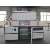 Tubular High Temperature Chamber Furnace , Electric Heat Treatment Furnace 220V 4.0KW Manufactures