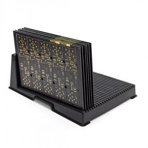 China Minimizing Storage Space ESD PCB Racks / ESD PCB Holder L Type Slot Width 5mm on sale