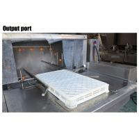 Turnover Basket Washing Machine , Fruit And Vegetable Plastic Crate Washing Machine Manufactures