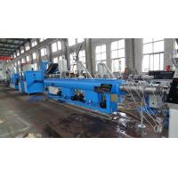 Single Screw Extrusion Elelctrical Wire Pp Pipe Extrusion Line 11-125KW Power Manufactures