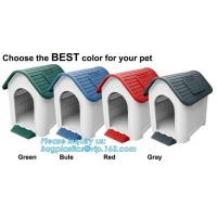China pet cage , plastic dog house with lock , dog house with steel door, Plastic Dog Outdoor Pet House, Home Indoor Outdoor E on sale