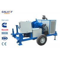 China ISO Blue Color Underground Cable Pulling Machine 49.2hp 100kN Hydraulic Puller on sale
