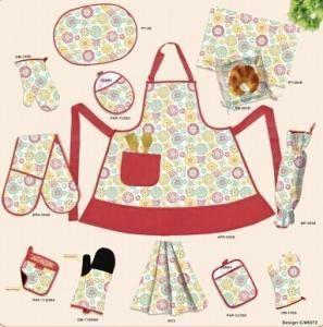 China Double Oven mitt / Potholder / Tea towel / Napkin / Cushion for Kitchen on sale