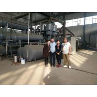 Continuous waste rubber tyre plastic machine to fuel oil Manufactures
