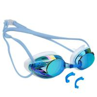 Anti Fog Mirror Lens Goggles , Swimming Goggles With Prescription Lenses Manufactures